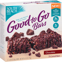 South Beach Diet Good to Go Bars Chocolate Cereal Bars