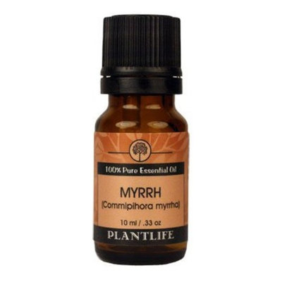 Plantlife Myrrh Essential Oil (100% Pure and Natural, Therapeutic Grade) 10 ml
