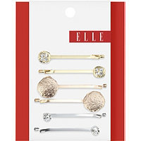 Elle Mixed Metal Bobby Pins 6 Ct