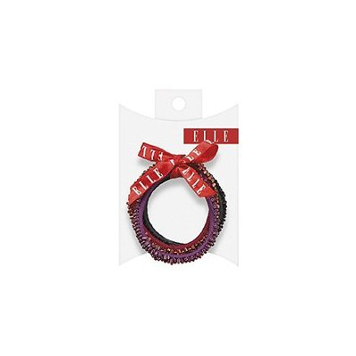 Elle Beaded Elastics 3 Ct