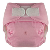 Blueberry Deluxe Hook/Loop Diaper, Pink (Discontinued by Manufacturer)