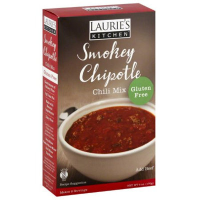 Laurie's Kitchen Lauries Kitchen Smokey Chipotle Chili Mix, 6 oz, (Pack of 6)
