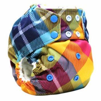 Kanga Care Rumparooz One Size Cloth Pocket Diaper, Preppy Plaid Snap, 1 ea
