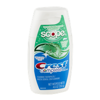 Crest Complete Fluoride Toothpaste Minty Fresh