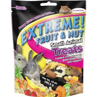 F.M.BROWN'S F.M. Brown's Extreme! Fruit and Nut Small Animal Treat, 10-Ounce