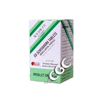 Co-Schisandra Tablets SUGAR FREE(Brain and Mental Formula)
