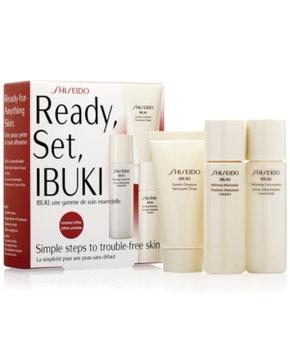 Shiseido Ready, Set, Ibuki Starter Kit