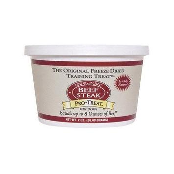 Gimborn Freeze-Dried Training Dog Treat, Beef Steak, 2-Ounce