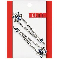 Elle Blue Rhinestone Bobby Pin 2 Ct