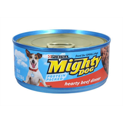 Purina Mighty Dog Hearty Beef Dinner