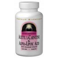 SOURCE NATURALS Acetyl L-Carnitine & Alpha-Lipoic Acid tabs 240 tabs