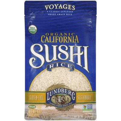 Lundberg Family Farms California Sushi Rice, 1 LB (Pack of 6)