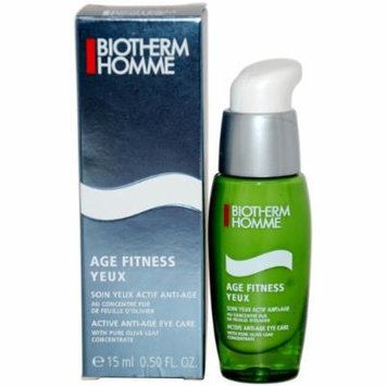 Biotherm Age Fitness Power 2 Yeux Anti-Aging Formula for Unisex, 0.5 Ounce
