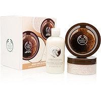 The Body Shop Coconut Glowing Body 3-pc Kit