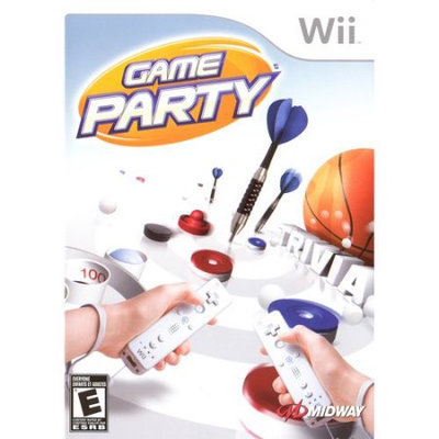 Midway 106615 Game Party for Nintendo Wii