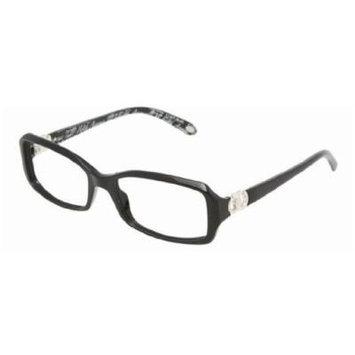 Tiffany & Co TF2023 Eyeglasses 8001 Black Demo Lens, 53mm