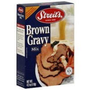 Streits Streit's, Gravy Mix, Brown, Pass, 12/4.2 Oz
