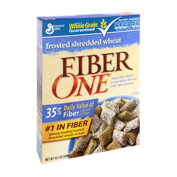 Fiber One Frosted Shredded Wheat Cereal