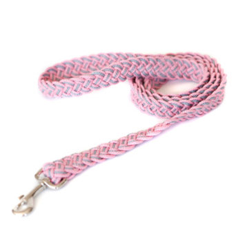 Kiss My Mutt City Dwellers Braided Dog Lead Size: Medium/Large, Color: Vancouver Island