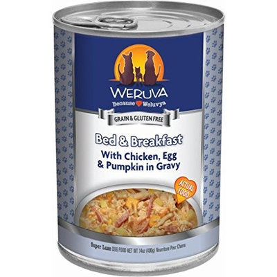 Weruva Dog Food, Bed & Breakfast Dog Food, 14-Ounce Cans (Pack of 12)