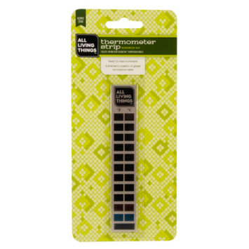 All Living ThingsA Hermit Crab Habitat Thermometer Strip