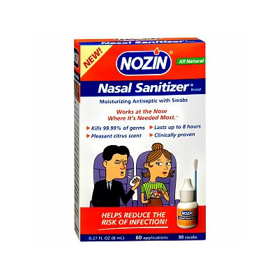 Nozin Nasal Sanitizer Advanced Popswab Pre-Filled Ampules