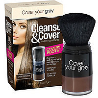 Cover Your Gray Cleanse & Cover Hair Freshener Dark Brown