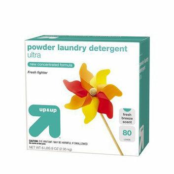 up & up Ultra Fresh Breeze Powder Laundry Detergent 80 Loads 6.5-lb.