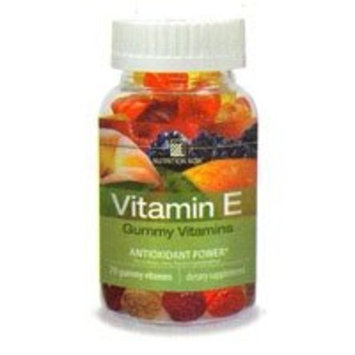 Vitamin E Gummy Vitamins by Nutrition Now 70 Chewable