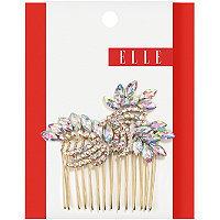Elle Side Comb Iridescent Stone 1 Set
