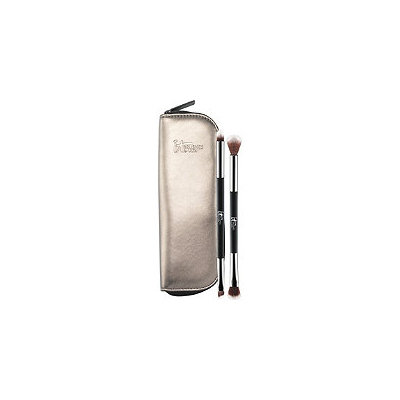 IT Brushes For ULTA You're Easy On The Eyes Dual-Ended Eye Shadow Brush Set