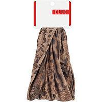 Elle Animal Print Fabric Headwrap