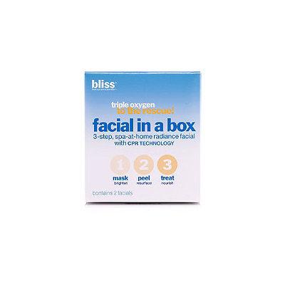 Bliss Triple Oxygen Facial In A Box