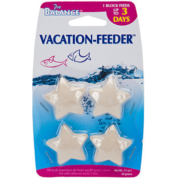 Penn Plax Star Shape Vacation Fish Feeder, 1 oz.