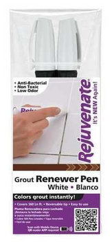 Rejuvenate Grout Pen (White) [PK/12]. Model: RJ2GMW (WHITE)
