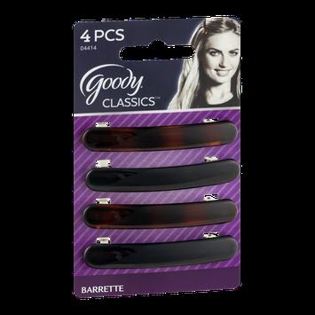 Goody Classics Barrette - 4 CT