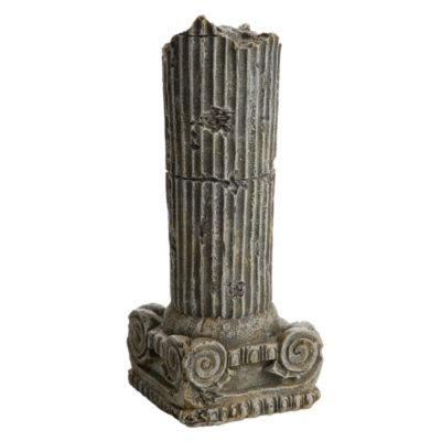 National GeographicTM Roman Pillar Aquarium Ornament