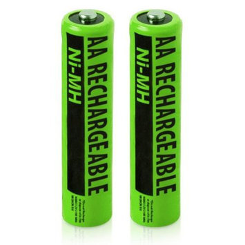 VTech Replacement Battery NiMh AA Batteries 2-Pack for Vtech Phones