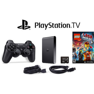 Sony PlayStation TV Bundle with DualShock 3 and Lego Movie Video Game for