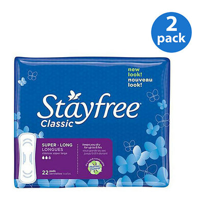 Stayfree Maxi Pads Advanced