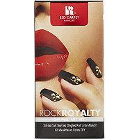 Red Carpet Manicure Rock Royalty DIY Nail Art Kit