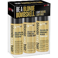 Blonde Sexy Hair Be A Blonde Bombshell Trio