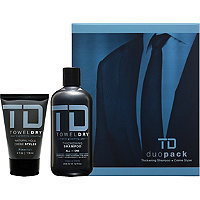 TowelDry TD Duo Pack Thickening Shampoo + Crme Styler