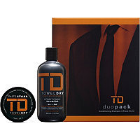 TowelDry TD Duo Pack Conditioning Shampoo + Paste Styler
