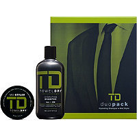 TowelDry TD Duo Pack Hydrating Shampoo + Mid Styler