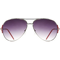 Starlight Metal Aviator Sunglasses