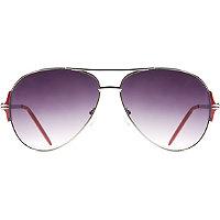 Starlight Metal Aviator Sunglasses