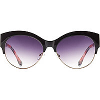 Starlight Clubmaster Cateye Sunglasses