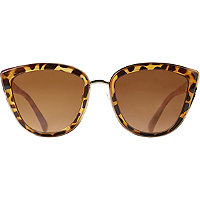 Starlight Tortoise Cateye Sunglasses