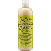 SheaMoisture Tahitian Noni & Monoi Smooth & Illuminate Bubble Bath & Body Wash